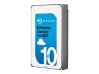 "Seagate Enterprise Capacity 3.5 HDD V.6 (Helium) ST10000NM0206 - Hårddisk - 10 TB - inbyggd - 3.5"" - SAS 12Gb/s - 7200 rpm - buffert: 256 MB ST10000NM0206"
