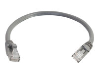 C2G Cat6 Booted Unshielded (UTP) Network Patch Cable - Patch-kabel - RJ-45 (hane) till RJ-45 (hane) - 7 m - UTP - CAT 6 - formpressad, hakfri, tvinnad - grå 83371