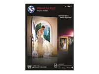 HP Premium Plus Photo Paper - Blank - A4 (210 x 297 mm) - 300 g/m² - 20 ark fotopapper - för Envy 5055, 7645; Officejet 52XX, 76XX; PageWide MFP 377; PageWide Pro 452; Photosmart 5525 CR672A