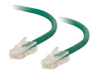 C2G Cat5e Non-Booted Unshielded (UTP) Network Patch Cable - Patch-kabel - RJ-45 (hane) till RJ-45 (hane) - 7 m - UTP - CAT 5e - tvinnad, enhetsstart - grön 83066