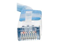 C2G Cat5e Booted Shielded (STP) Network Patch Cable - Patch-kabel - RJ-45 (hane) till RJ-45 (hane) - 1 m - STP - CAT 5e - formpressad - blå 83770