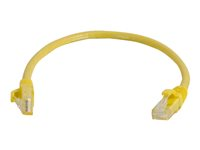 C2G Cat6 Booted Unshielded (UTP) Network Patch Cable - Patch-kabel - RJ-45 (hane) till RJ-45 (hane) - 3 m - UTP - CAT 6 - formpressad, hakfri, tvinnad - gul 83469