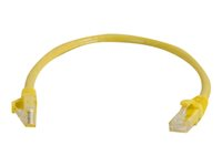 C2G Cat6 Booted Unshielded (UTP) Network Patch Cable - Patch-kabel - RJ-45 (hane) till RJ-45 (hane) - 2 m - UTP - CAT 6 - formpressad, hakfri, tvinnad - gul 83468