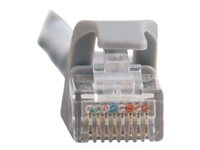 C2G Cat6 Booted Unshielded (UTP) Network Patch Cable - Patch-kabel - RJ-45 (hane) till RJ-45 (hane) - 100 m - UTP - CAT 6 - formpressad, hakfri, tvinnad - grå 83377