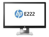 "HP EliteDisplay E222 - LED-skärm - Full HD (1080p) - 21.5"" M1N96AA"